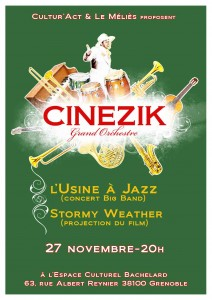 affiche Cinezik big band