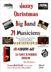 concert 23 DEC L'USINE A JAZZ